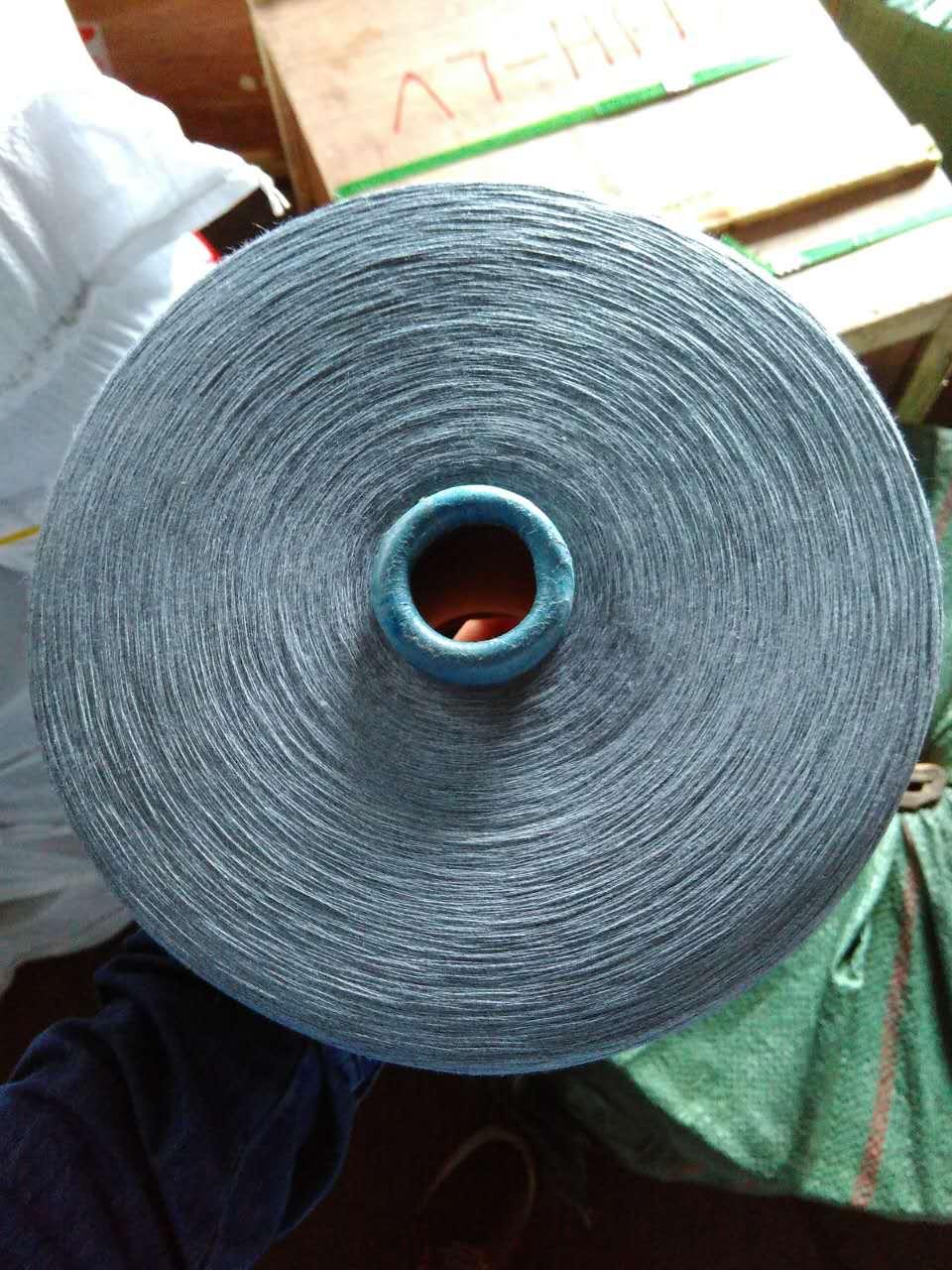 吉尔吉斯斯坦32/1 有色涤纶线23吨