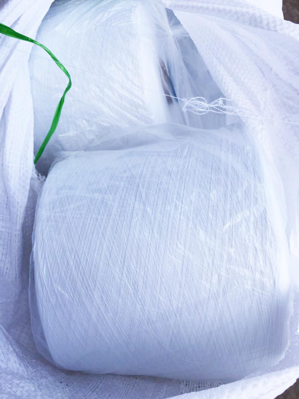 义乌胤祥厂家生产402涤纶缝纫线出口俄罗斯25吨